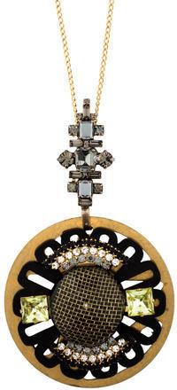 MarniMarni Crystal Pendant Necklace