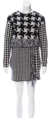 Stella McCartney Jacquard Wool Dress