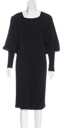 Chanel Wool & Cashmere-Blend Dress