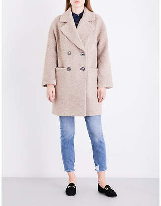 Mih Jeans Ormsby wool-blend coat $550 thestylecure.com