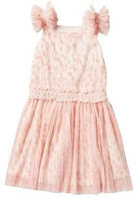 BCBGirls Flocked Flower Dress (Big Girls)