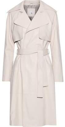 Iris & Ink Nova Leather Trench Coat