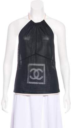 Chanel Interlocking CC Halter Top
