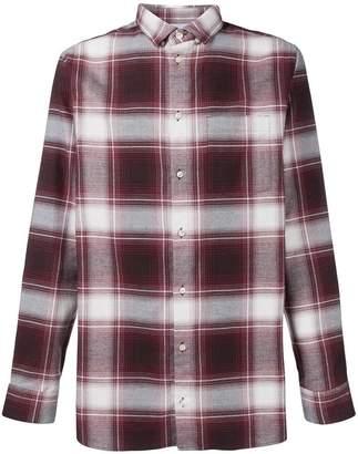 Natural Selection Long Pocket checked shirt