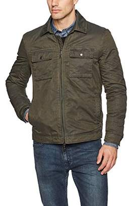 John Varvatos Men's Military Patch Pocket Jacket