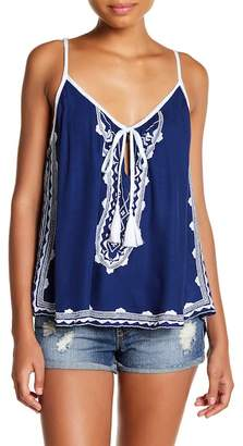 Tiare Hawaii Madrid Embroidered Tank Top