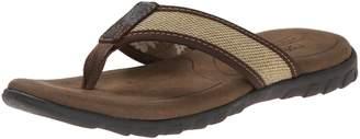 Crevo Men's Mocha Dress Sandal