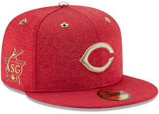 New Era Boys' Cincinnati Reds 2017 All Star Game Patch 59FIFTY Fitted Cap