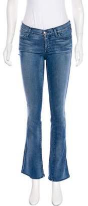 Koral Mid-Rise Straight-Leg Jeans