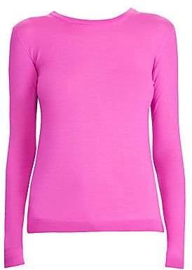 Ralph Lauren Women's Cashmere Jersey Crewneck Sweater