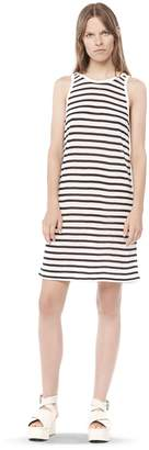 Alexander Wang Stripe Linen Tank Dress