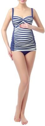 Kimi and Kai 'Abby' Maternity Two-Piece Tankini Swimsuit