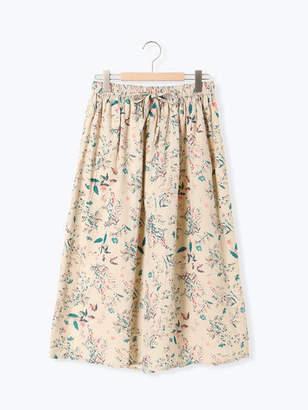 SM2 (サマンサ モスモス) - Samansa Mos2 花柄ギャザースカート