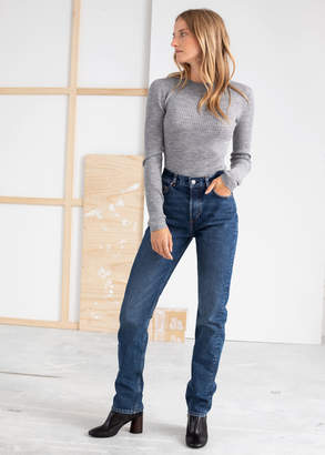 And other stories Slim High Rise Jeans
