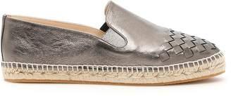 Bottega Veneta Woven Leather Espadrilles