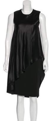 Givenchy Silk Overlay Bodycon Dress