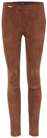 Polo Ralph Lauren Suede leggings