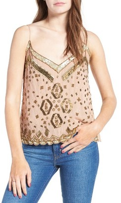 Women's Somedays Lovin Beaded Cotton Camisole $139 thestylecure.com
