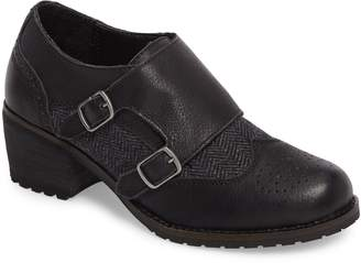 Aetrex Dina Double Monk Strap Ankle Boot
