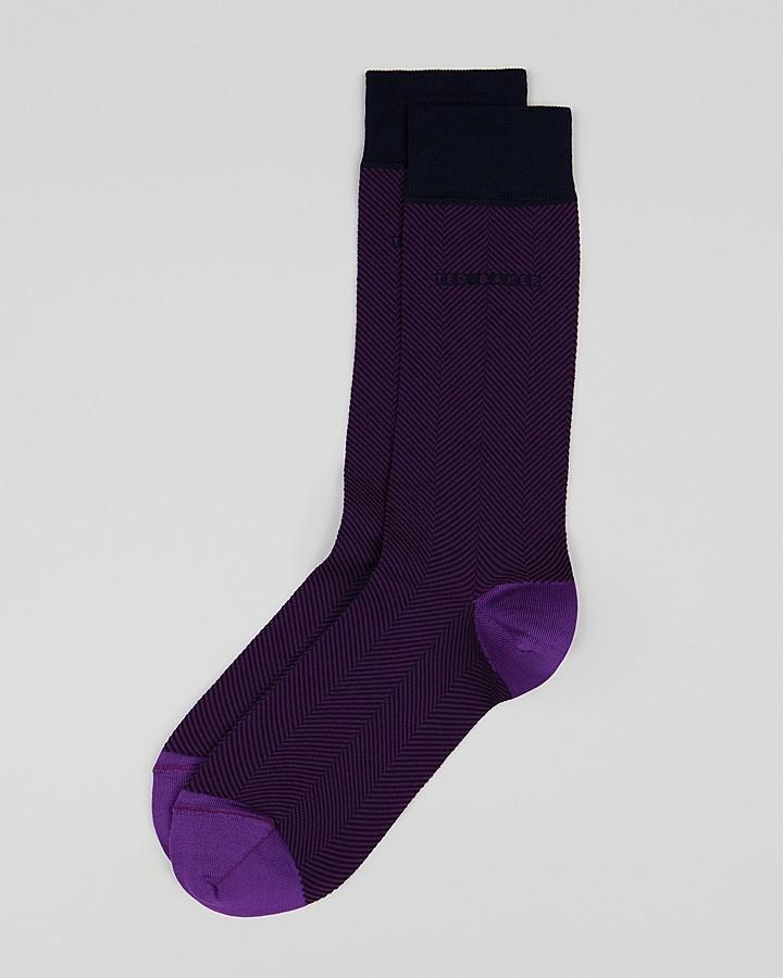 Ted Baker Rebone Herringbone Socks