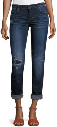 Kut from the Kloth Catherine Low-Rise Skinny Boyfriend Jeans, Blue $59 thestylecure.com