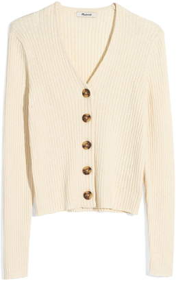 Madewell Shrunken Ribbed Cardigan