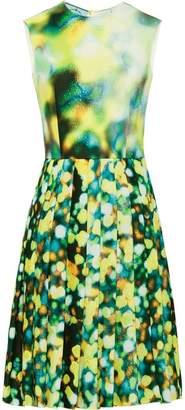 Prada patterned broadcloth dress