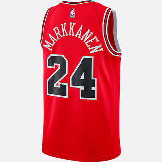 Nike Men's Chicago Bulls NBA Lauri Markkanen Icon Edition Connected Jersey