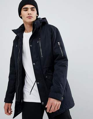 ONLY & SONS padded parka with multi pockets