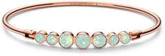 Fossil Sea Green Glitz Rose Gold-Tone Steel Bracelet