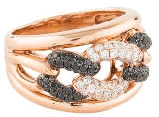 Frederic Sage 14K Diamond Chain-Link Ring