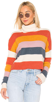 MinkPink Be Bold Strip Sweater