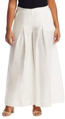 Marina Rinaldi Marina Rinaldi, Plus Size Rimini Linen Pants