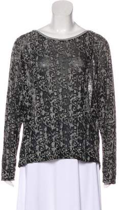 By Malene Birger Knit Long Sleeve Top