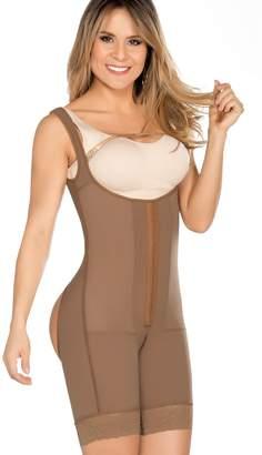 7d325fc173549 Equilibrium - Post Op Compression Garment - Buttocks Enhancer - Mid Thigh  Length Bodysuit - C9003