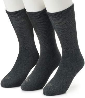 Work Iq Men's Work IQ 3-pack Cushioned Crew Socks