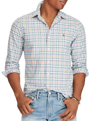 Polo Ralph Lauren Plaid Cotton Classic Fit Button-Down Shirt