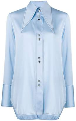 Ellery Bilbao oversized collar blouse