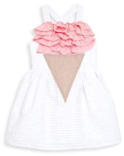Little Girl's & Girl's Ruffled Ice Cream Dress $107 thestylecure.com