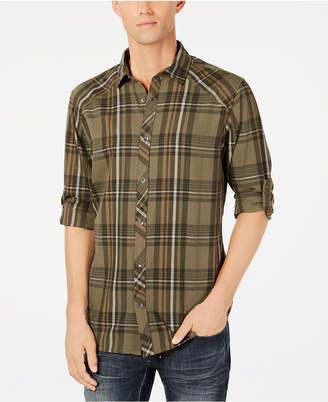 INC International Concepts I.n.c. Men's Marc Plaid Shirt, Created for Macy's