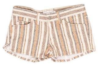 Etoile Isabel Marant Low-Rise Printed Shorts