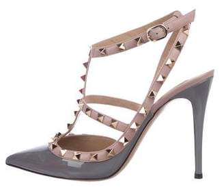 c6071bfe184 Valentino Rockstud Pointed-Toe Pumps