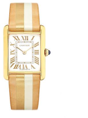 Cartier La Californienne Large Pearl Tank Watch