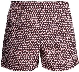 Valentino Star-print swim shorts