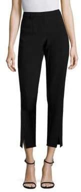 St. John Jennifer-Fit Stretch Micro Ottoman Ankle Pants