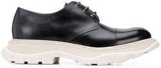 Alexander McQueen chunky sole Derby shoes