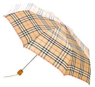Burberry House Check Umbrella