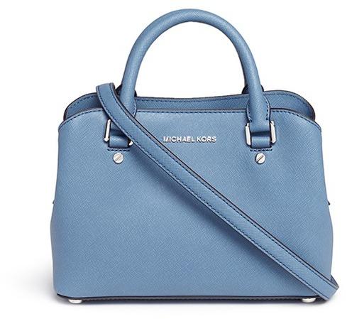 MICHAEL Michael KorsMichael Kors 'Savannah' small saffiano leather satchel