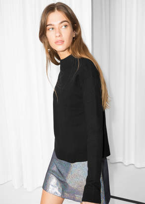 And other stories Wide Collar Sweater