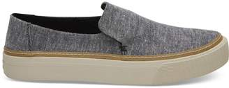Black Chambray Women's Sunset Slip-Ons